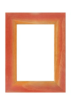 Free Colored Wooden Frame Royalty Free Stock Photo - 4929535