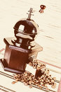 Free Old-fashioned Coffee Grinder Royalty Free Stock Image - 4931766