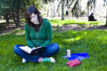 Free Student In The Park Stock Photo - 4932410