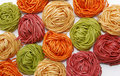 Free Colored Noodles Royalty Free Stock Photo - 4938225