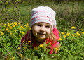 Free Child In Flowers Stock Photos - 4939293