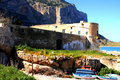 Free Palermo, Ancient Fishing Building Royalty Free Stock Photos - 4939548