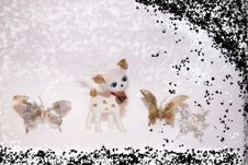Free Reindeer In The Snow 5 Stock Image - 4930461