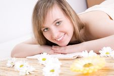 Free Woman Taking Spa Treatment Royalty Free Stock Image - 4930506