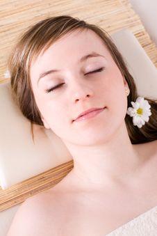 Free Woman Taking Spa Treatment Royalty Free Stock Photos - 4930528