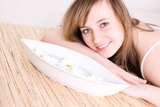 Free Woman Taking Spa Treatment Royalty Free Stock Photos - 4930538