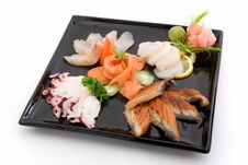 Free Made Dish Of Sashimi Royalty Free Stock Images - 4930599