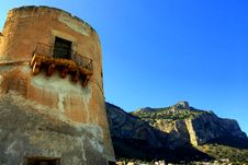 Free Ancient Building Tower, Palermo Royalty Free Stock Photos - 4931568