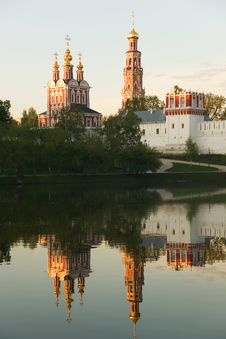 Free Novodevichy Convent 5 Stock Image - 4931691