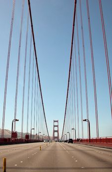 Free The Golden Gate Bridge Highway Stock Images - 4931704