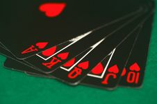 Free Poker Game Royalty Free Stock Photos - 4932058