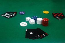 Free Poker Game Stock Photo - 4932170