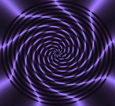 Ultra Violet Wheel Of Light Royalty Free Stock Image