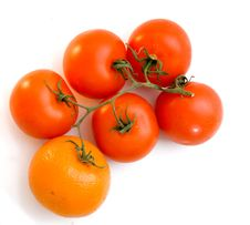 Free The Tangerine Which Has Grown Royalty Free Stock Images - 4933279