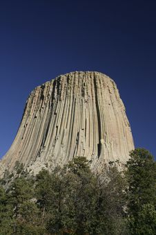 Free Devils Tower National Monument, Wyoming Royalty Free Stock Photography - 4933317