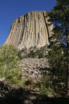 Free Devils Tower National Monument, Wyoming Stock Photography - 4933332