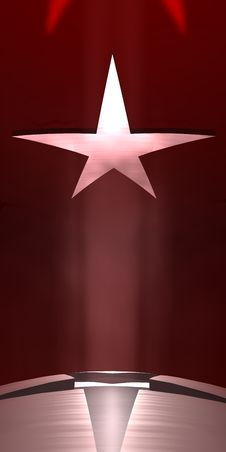 Free Star Background Stock Photography - 4933422