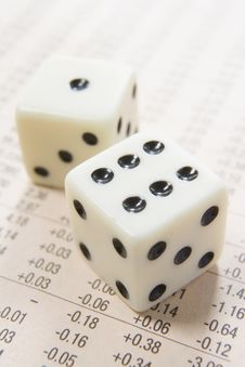 Free Dice And Numbers Royalty Free Stock Images - 4933669