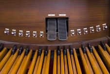 Free Church Organ Pedals Stock Photography - 4934602
