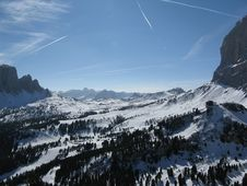 Passo Sella - Italy Stock Images