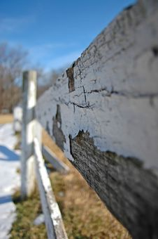 Free Wooden Fence Royalty Free Stock Photo - 4934875