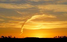 Free Sunset Lamdscape Royalty Free Stock Images - 4934889