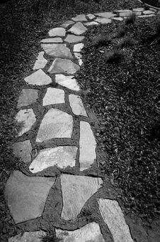 Free Old Stone Path Royalty Free Stock Photography - 4934897