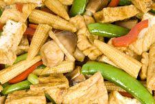 Free Stir Fried Vegetables Stock Image - 4935351