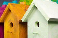 Free Birdhouses Stock Photography - 4935432