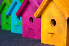 Free Birdhouses Royalty Free Stock Image - 4935436