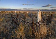 Free Ghost Town Graveyard Stock Image - 4935521