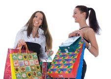 Free Business Lady Shopping Stock Image - 4935931