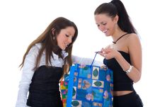 Free Business Lady Shopping Stock Photography - 4935932