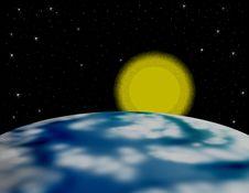Free Earth And Sun Stock Photos - 4936413