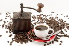 Free Coffee Time Royalty Free Stock Photo - 4936645