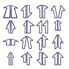 Free Arrows Stock Image - 4936851