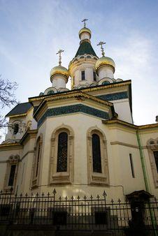 Free Sacred Nikolay S Temple In Sofia Stock Photos - 4937033