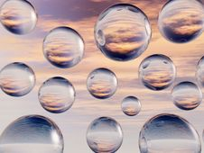 Free Water Balls Royalty Free Stock Photo - 4937365