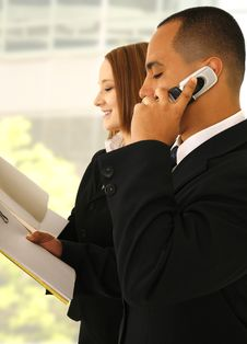 Free Business Team Busy Working Stock Images - 4937834