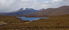 Free Loch Assynt With Ben More In The Background, ,Highlands,Scotland,Uk. Royalty Free Stock Image - 4937906