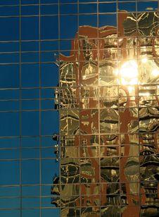 Free Urban Reflection. Stock Photo - 4938440