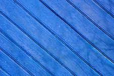 Free Blue Wooden Fence Royalty Free Stock Images - 4938599