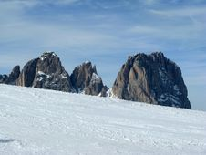 Free Mount Sassoloungo - Italy Stock Images - 4938824