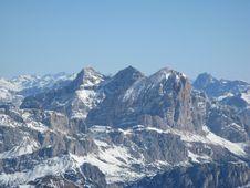 Free Tofane Group - Italy Royalty Free Stock Photography - 4938847