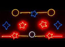 Free Neon -2 Stock Image - 4938921