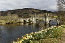 Free Wade Bridge, Stock Image - 4939031