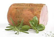 Free Ham With Herbs Stock Images - 4939094