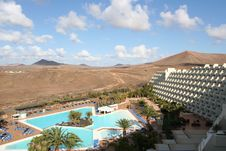 Free Hotel On The Canaries Island Stock Photos - 4939193