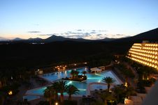 Free Hotel On The Canaries Island Stock Images - 4939214