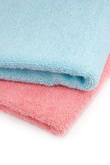Free Bathroom Towels Royalty Free Stock Image - 4939286
